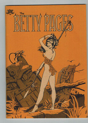The Bettie Pages #1 First Printing