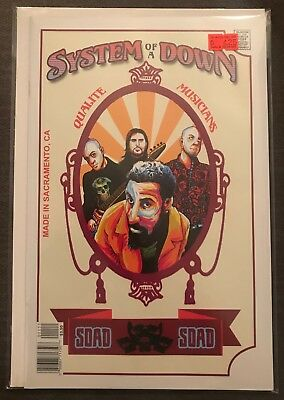 System of a Down Rock Roll Biography 11 VF FEB 2018 ACME