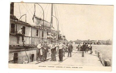 Early 1900s Postcard of the Steamer Tarpon in Panama City, Florida FL