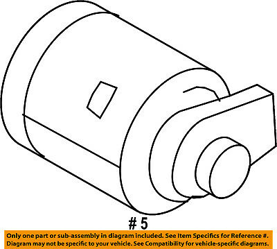 Oem New Genuine 2010 2013 Ford Transit Connect Lock Cylinder