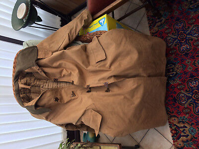 WW2 RAF Army Air Ministry Trench coat military very heavy despatch rider motor.
