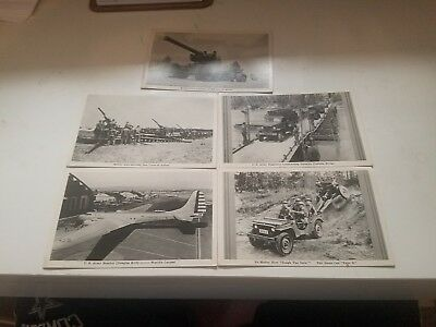 5 WW2 Postcards In Action