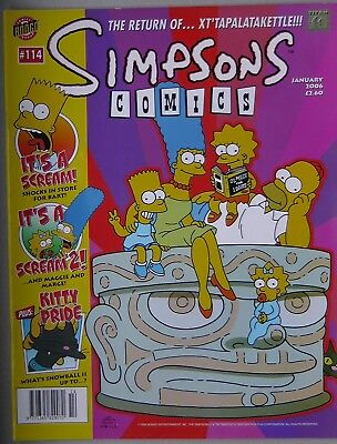 Simpsons Comics #114 Bongo Comics