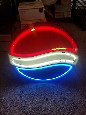 Vintage Neon Pepsi Cola Sign Works