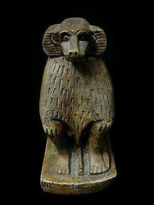 Replica Rare Antique Ancient Egyptian statue of Baboon BC