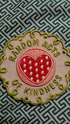 Girl Scout Random Acts Of Kindness Patch New two patches