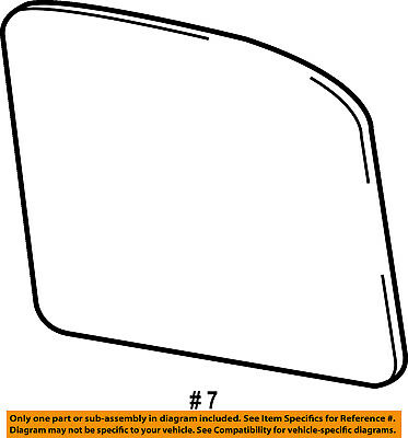 FORD OEM 15-16 Mustang Door Rear Side View-Mirror Glass Right FR3Z17K707A