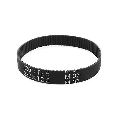 "T2.5x230 92-Tooth 2.5mm Pitch 10mm Width Groove Timing Belt 9"" Girth ."