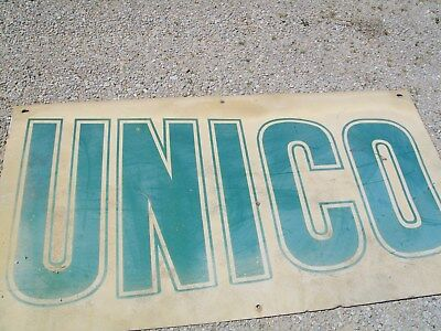 Good used Unico sign