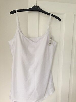 NEXT SIZE 18 WHITE Maternity Vest Top/summer/womens/Bargain!
