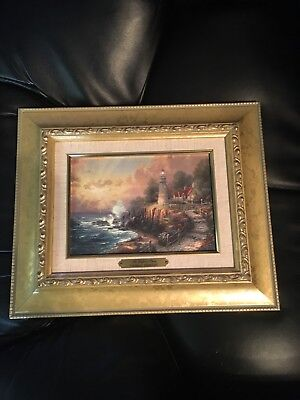 Thomas Kinkade the Light of Peace - Accent Print 11.5 x 9.75