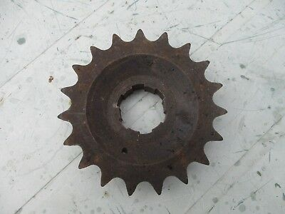 Norton Gearbox Sprocket – new old stock – 19 teeth.  5/8 x ¼ pitch.