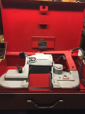Milwaukee 6230 Deep Cut 120 Volt 6 Amp 350 Fpm Variable Speed Portable Band Saw