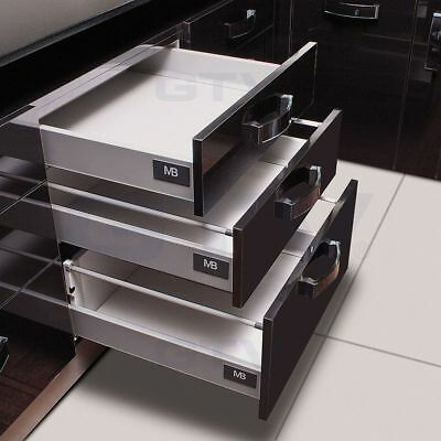 GTV MB Modernbox Soft Close Kitchen Drawer Kit 450mm | 500mm like Blum Tandembox