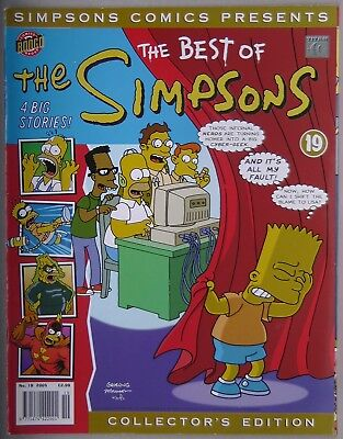 Simpsons Comics Presents The Best Of The Simpsons #19 Bongo Comics