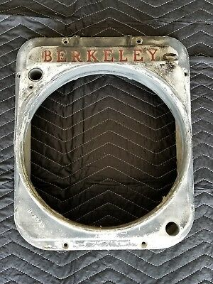 Berkeley jet drive transom adapter plate JET BOAT SPEED BOAT  (used)