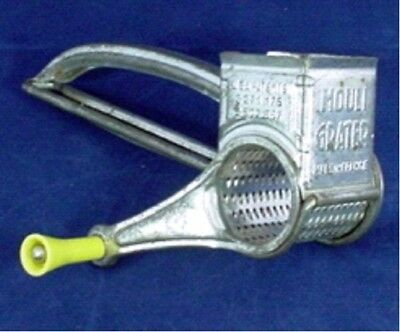 Mouli French Hand Grater with Yellow Handle
