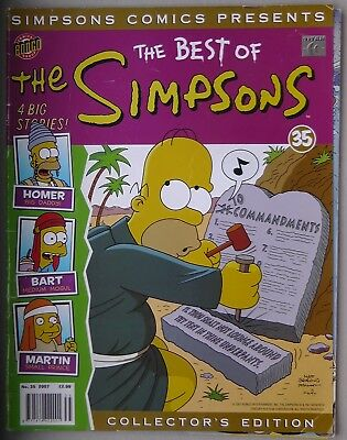 Simpsons Comics Presents The Best Of The Simpsons #35 Bongo Comics