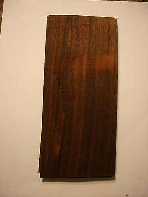 1 Rare Brazilian  Rosewood Veneer =Cites Pre Ban Over 60 Years Old 1/42 Nos