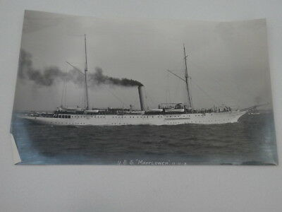 Photo USS Mayflower US Navy PY-1 SteamYacht Bought for Spanish-American War