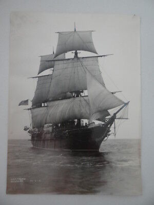 Photo USS Hartford US Navy Sloop of War Commissioned 1858 Training Ship