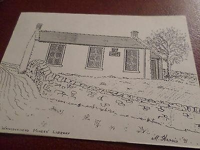 Postcard Wanlockhead Miners Library Dumfries & Galloway