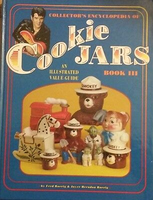 ENCYCLOPEDIA OF COOKIE JAR VALUE GUIDE COLLECTOR'S BOOK Fred & Joyce Roerig