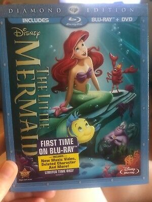 The Little Mermaid (Blu-ray, 2013, Diamond Edition) (Blu-Ray Copy Only!)