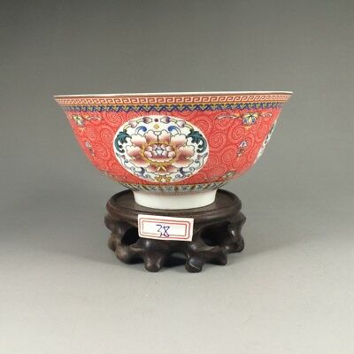 Chinese antique hand-painted design exquisite, bowl