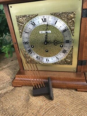 Seth Thomas Mantle Clock Made In Germany Repair Or Parts