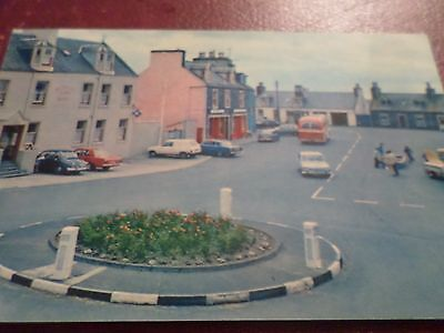 1982 Postcard The Square Port William Dumfries & Galloway
