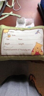 Winnie The Pooh Pillow Fill In