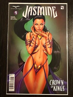 Zenescope Grimm Fairy Tales Jasmine Crown of Kings Issue #1 MCCOY COVER NM+