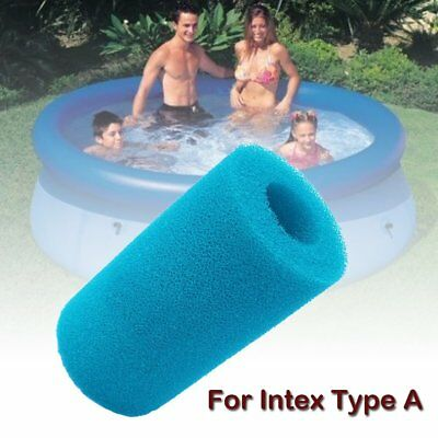 Reusable/Washable Foam Hot Tub Filter Cartridge Pure Pool For Intex Type A CA