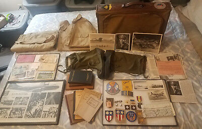WWII USAAF Brig. General LaVerne G. Saunders Group +China War Memorial Medal #rd
