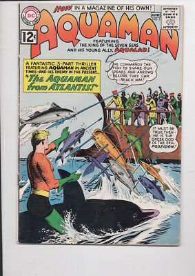AQUAMAN #3 comic book/DC/from 1962/55% OFF GUIDE!