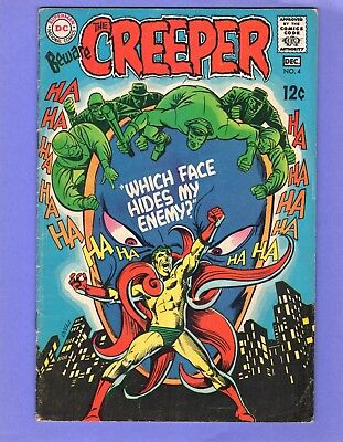 Beware the Creeper #3 --  Steve Ditko - DC 1968  -- --  6.5  FN+  cond.