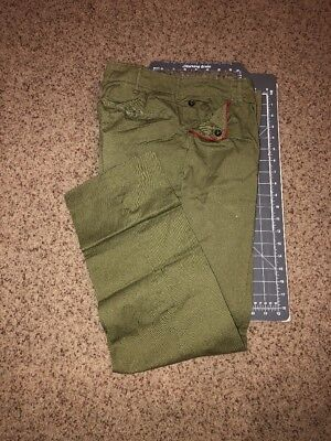 Vintage Boy Scouts of America BSA Green Uniform Pants Old Classic 1950's Style