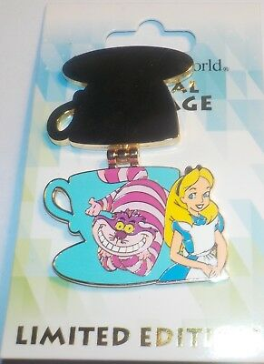 WDW Magical Montage 2016 Alice and Cheshire Cat LE Pin