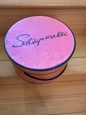 Schiaparelli Shocking Pink Hat Box vintage