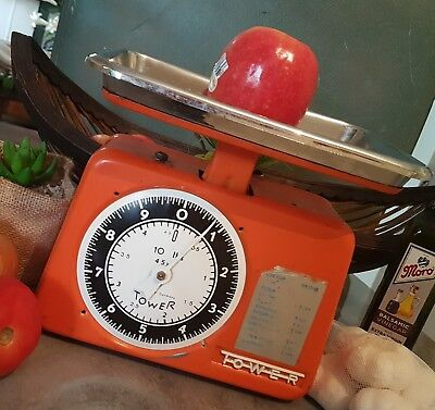 Vintage 50'S TOWER KITCHEN SCALES
