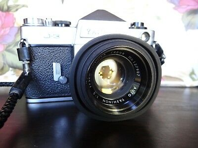Vintage Yashica J-3 Camera With Case...see Pics!!