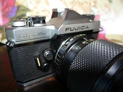VINTAGE FUJICA ST 605 n 35MM CAMERA WITH LENS...SEE PICS!!!