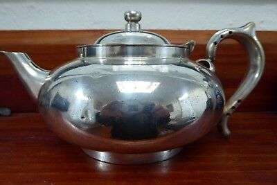 Robur  Perfect Teapot -  4 cup - silver plated C1927