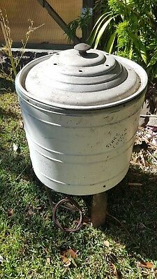 antique laundry copper boiler