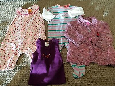 Bulk baby girls clothes size 0, pumpkin patch  sprout euc gorgeous