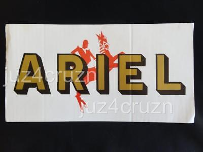 ARIEL Motorcycle Sign Red Hunter Deluxe Square Four Leader Arrow Etc.