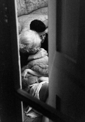 Photo Marilyn Monroe et JFK John Fitzgerald Kennedy / 10 x 15 cm / réf: 8084