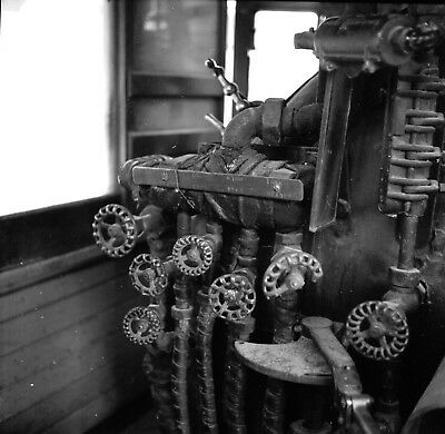 """Southern Pacific RR, Inside Eng. #9, Laws CA  2/2x2"""" B&W negs w/5x7"""" photo#6"""