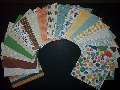 """*READY SET GO* Quality papers from American Crafts - 15cm x 15cm - (6"""" x6"""")"""